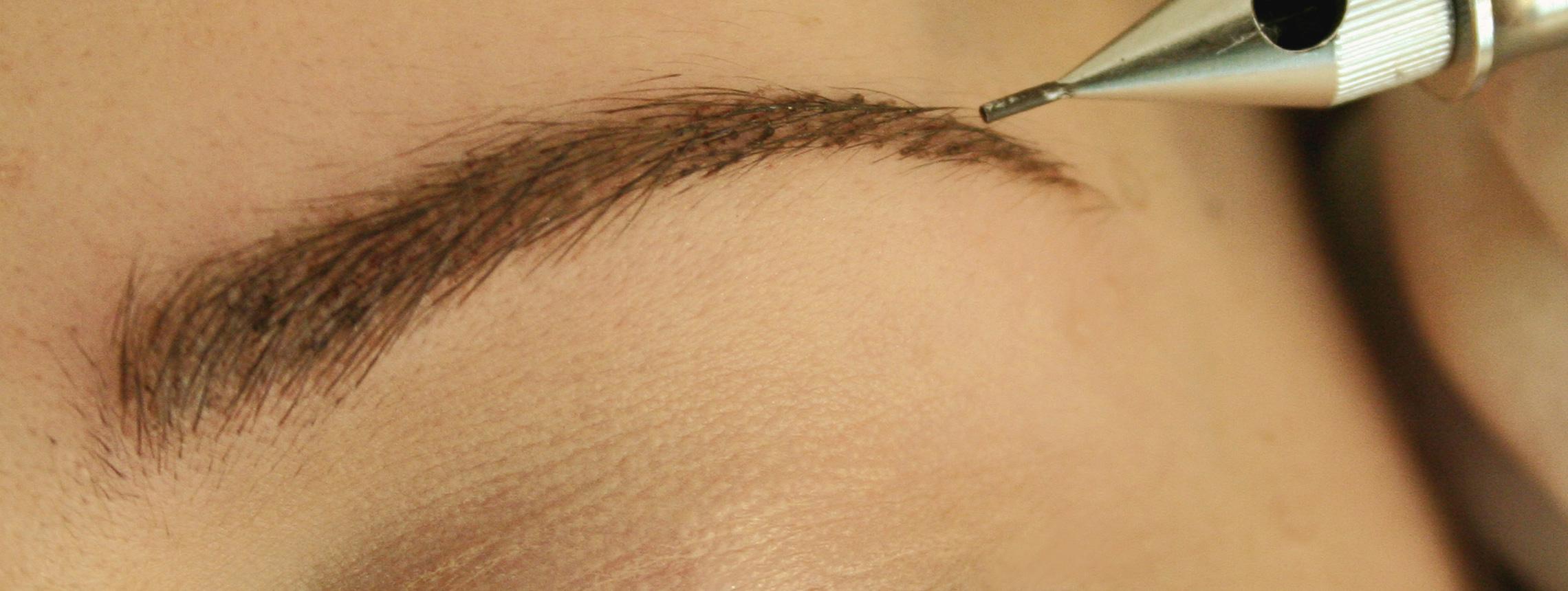 Perfekt geformte Augenbrauen